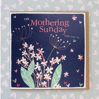 Mothering Sunday Card Floral Design