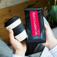 Dads Reusable Cup And Personalised Coffee Gift