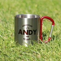 Personalised Stainless Steel Mug