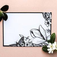 Botanical Wedding Postcard Set