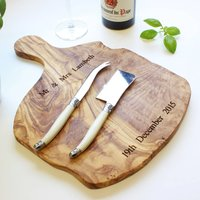 Personalised 38cm Rustic Chopping Board