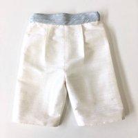 Silk Classic Shorts With Faux Cummerbund Waistband