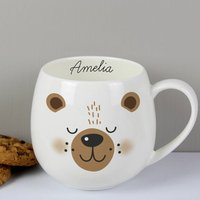 Personalised Bear Mug