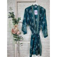Sari Silk Kimonos Long