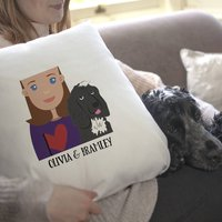 Dog Mum Gift Cushion