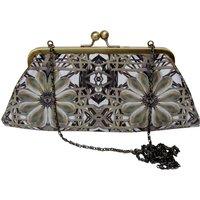 Vintage Pearl Silk Evening Bag/Clutch