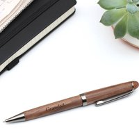Sustainably Sourced Personalised Walnut Pen