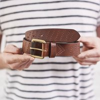 Personalised Awesome Mens Leather Belt