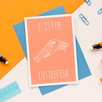 Cuttlefish Card