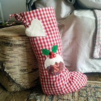Christmas Stocking Can Be Personalised
