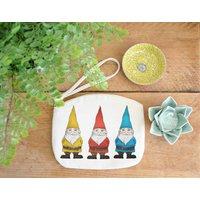 Gnomes Canvas Purse