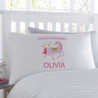 Unicorn Personalised Pillowcase