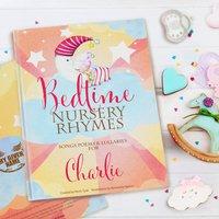 Bedtime Nursery Rhymes And Personalised Poems Book