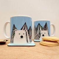 Polar Bear Winter Mug