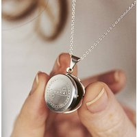 Small Loved Locket Necklace