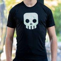 Glow In The Dark Skull T Shirt
