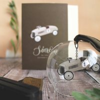 Father's Day Classic Car Glass Dome Gift