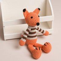 Hand Crochet Little Fox