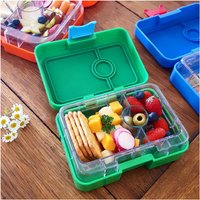 Yumbox Mini Snack Box New 2018 Summer Colours, Pink/Green/Blue