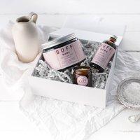 Buff Mama Bathe Box With Personalised Message