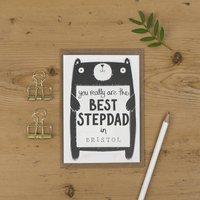 Best Stepdad Birthday Card