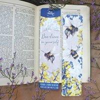 Bumble Bee Tearproof Bookmark