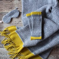 Wrap Scarf And Mitten Gift Set