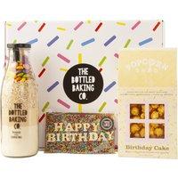 Happy Birthday Baking, Chocolate And Popcorn Gift Box