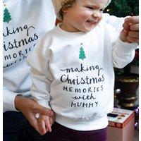 Personalised 'Making Memories' Christmas Jumper