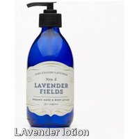 English Lavender Fields Body Lotion For Comfort