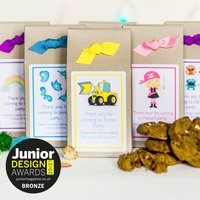 Personalised Party Bag Chocolate Chip Cookie Baking Mix