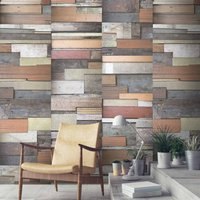 Reclaimed Wood Wallpaper By Woodchip And Magnolia