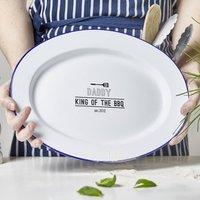 Personalised Enamel Serving Platter