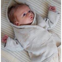 Personalised Baby Unisex Star Hoodie Cardigan