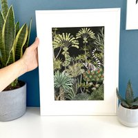 Madagascar Jungle Print