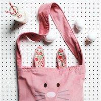 Kids Animal Messenger Bag And Optional Ears Set