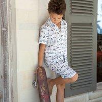 Bicycle Short Pyjamas