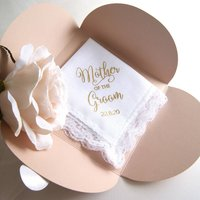 Personalised Handkerchief Mother Of The Groom