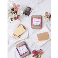 Flower Power Floral Organic Soap Set