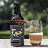 Personalised Dad's Craft Beer