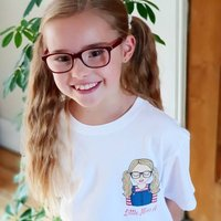 Personalised Create Your Own Little Miss T Shirt