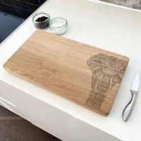 Wooden Elephant Chopping Board
