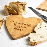 More Bread And Cheese Please Serving Board