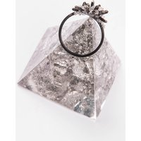 Crystalline Prong Ring