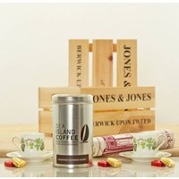 Espresso And Vintage Vines Gift Hamper Crate