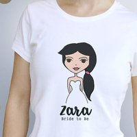 Personalised Dollybelles Bride T Shirt