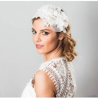 Briana Lace And Lace Headpiece