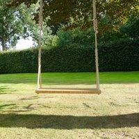 Oak Double Garden Swing