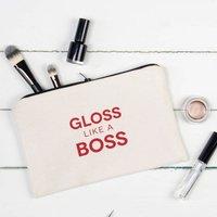Make Up Bag Gloss Like A Boss