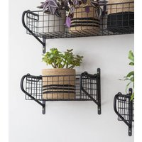 Wall Mounted Metal Shelves
